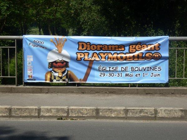 Si la bataille de Bouvines m'était contée... en playmobil !