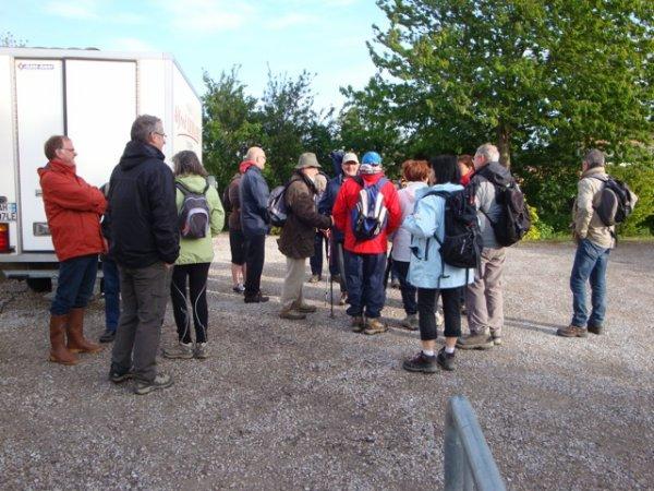 Le circuit du Leinster autour de Wez-Macquart (reportage Sabine Roucher, d'Ennetières-en-Weppes)