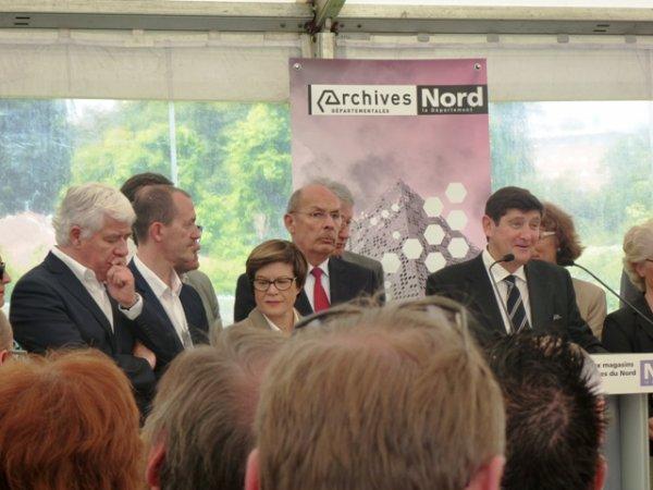 Vendredi 13 juin, c'était l'inauguration officielle du nouveau dépôt des Archives départementales du Nord