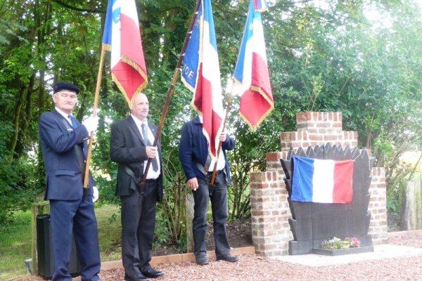 La commune d'Annequin, dans le Pas-de-Calais, honore la mémoire du caporal Louis Barthas (reportage de la présidente de Weppes en Flandre Chantal Dhennin)
