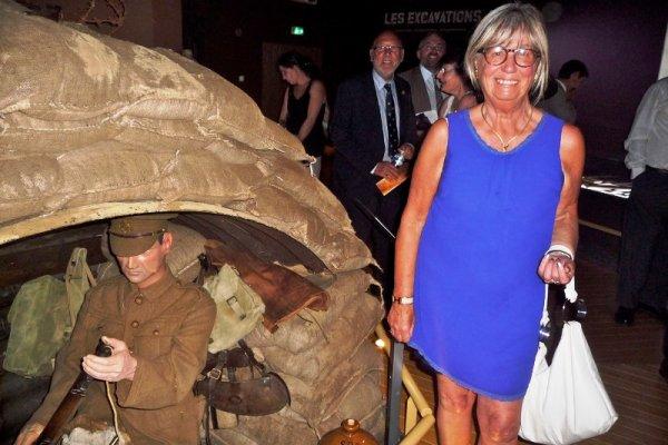 Vendredi 18 juillet 2014, inauguration du musée de la bataille de Fromelles : l'acte inaugural (reportage Chantal Dhennin)