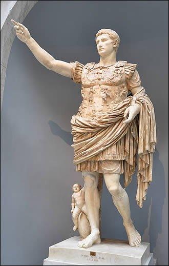 Il y a 2.000 ans, mourait l'empereur Auguste