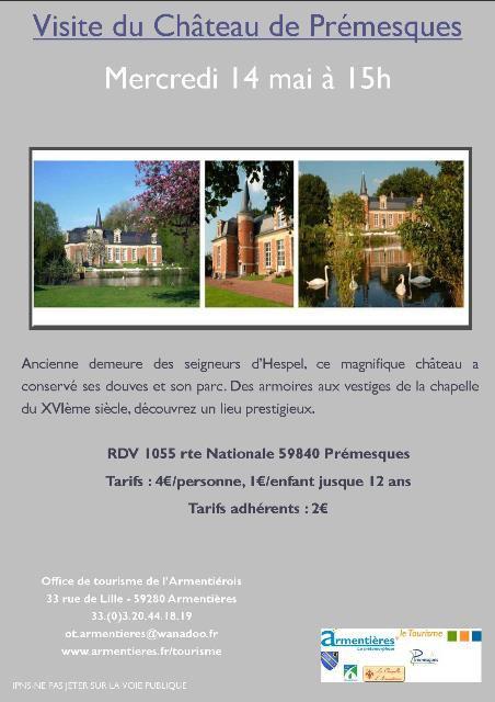 Les prochaines sorties de l'office de tourisme de l'Armentiérois.
