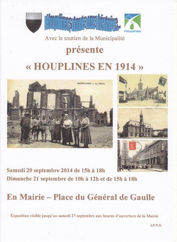 Houplines en 1914
