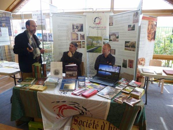 Forum des Weppes 2014 à Fromelles : la société d'Histoire de Comines Warneton et de sa Région y était et a beaucoup apprécié la manifestation