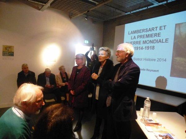 Le dernier bistrot histoire des Weppes consacré à la Première Guerre mondiale s'est tenu vendredi dernier à Lambersart