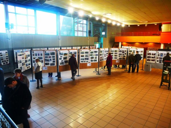 L'exposition annuelle de l'ATB 14-18 avait lieu cette année à Laventie et avait pour sujet les combats de cavalerie en octobre 14 dans le Nord