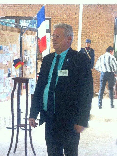 Le 11 novembre à Don : notre ami Alain-Pierre Loyez et le Cercle historique de Don à l'oeuvre