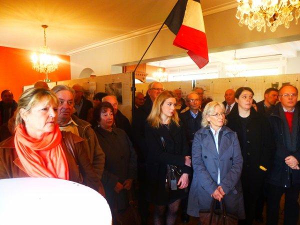 Santes, 11 novembre 2014 : exposition des Amis du Patrimoine Santois consacrée à la Première Guerre mondiale