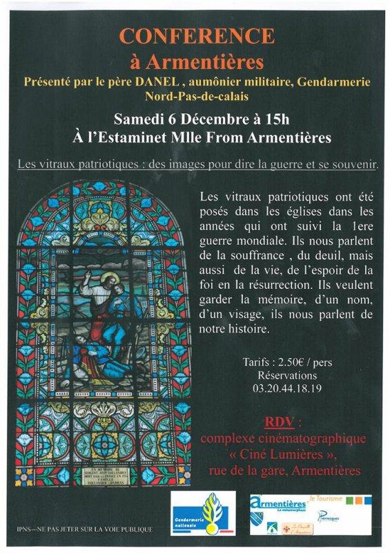 Samedi 6 décembre à l'estaminet Mademoiselle from Armentières
