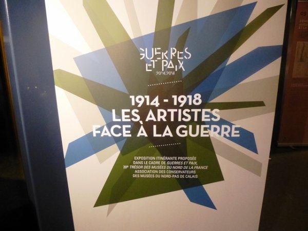 14-18 : les artistes face à la guerre