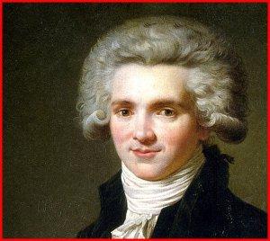 Quand Robespierre aimait bien rire, boire et chanter