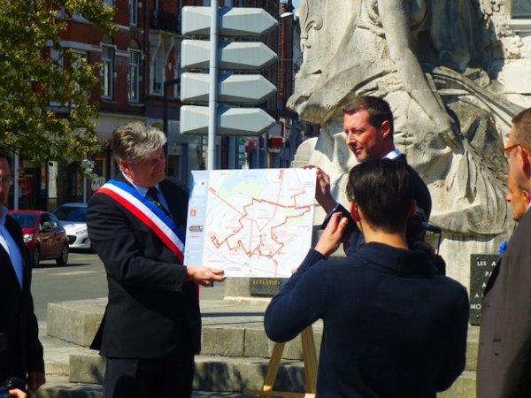 Lancement des chemins de mémoire 14-18 à Armentières