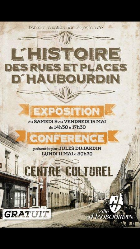 L'histoire des rues et places d'Haubourdin