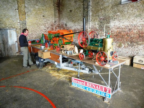 Le week-end dernier, Tracteurs en Weppes fêtait le printemps à Beaucamps-Ligny