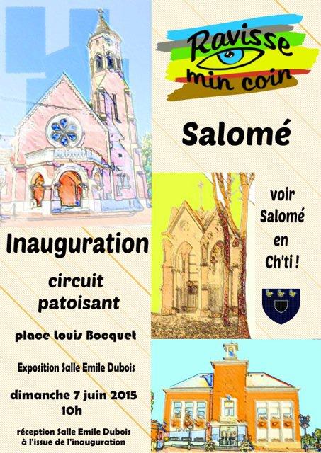 Inauguration du circuit Ravisse min Coin de Salomé