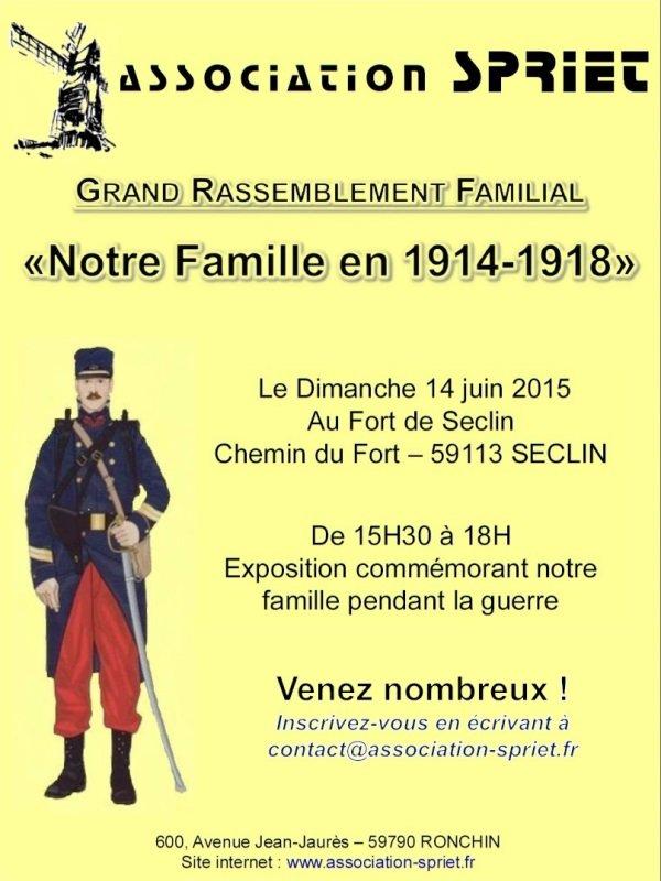 La famille SPRIET en 1914-1918