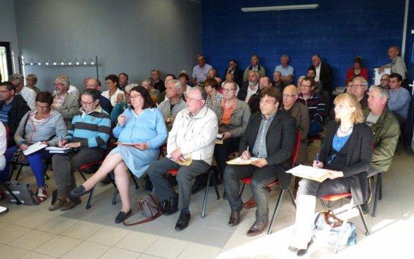 Le Forum de la châtellenie de Lille à Quesnoy-sur-Deûle se prépare (reportage photos Alain-Pierre Loyez)