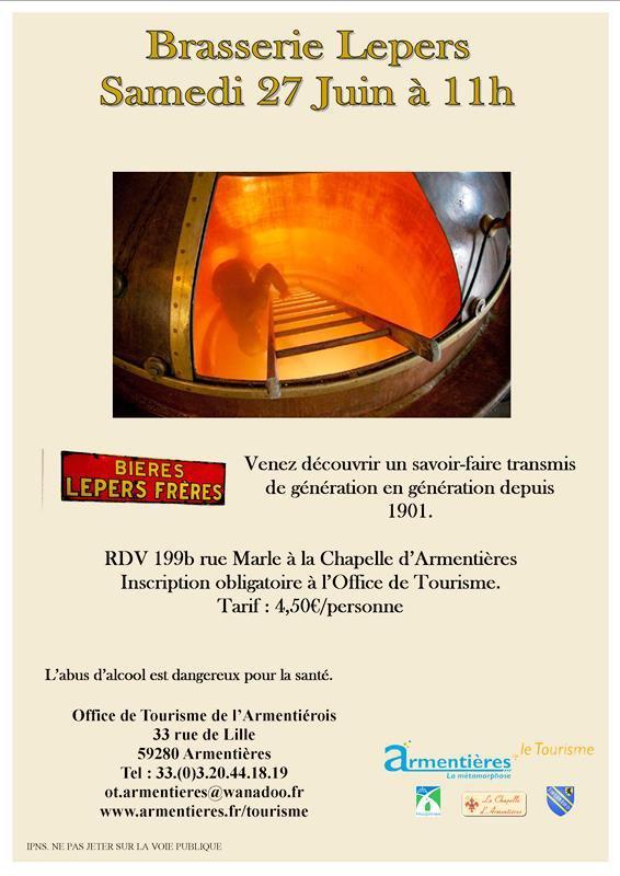 La brasserie Lepers et l'art du vitrail : un voyage dans la culture du pays de Weppes grâce à l'Office de tourisme de l'Armentiérois