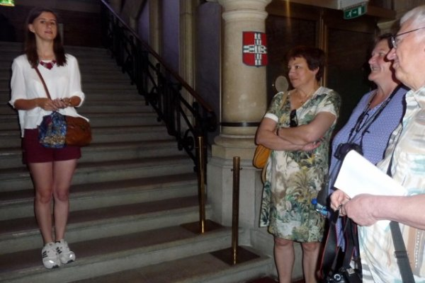 La société historique d'Illies en voyage d'été à Bailleul (reportage Chantal Dhennin)