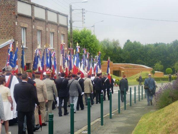 Commémoration du 99ème anniversaire de la bataille de Fromelles