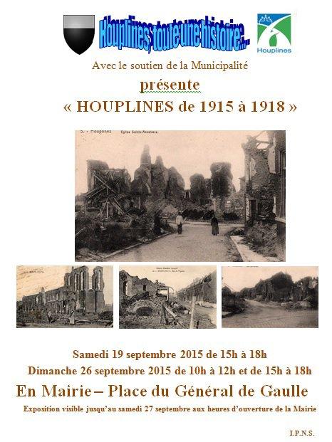 Houplines de 1915 à 1918