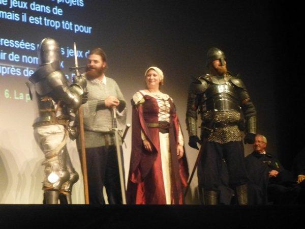 Quand le Moyen Âge en Flandre Lys nous est conté par Christian Defebvre, du Cercle de la Verde Rue de Laventie