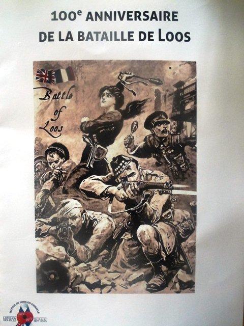Commémoration du centième anniversaire de la bataille de Loos (en Gohelle)