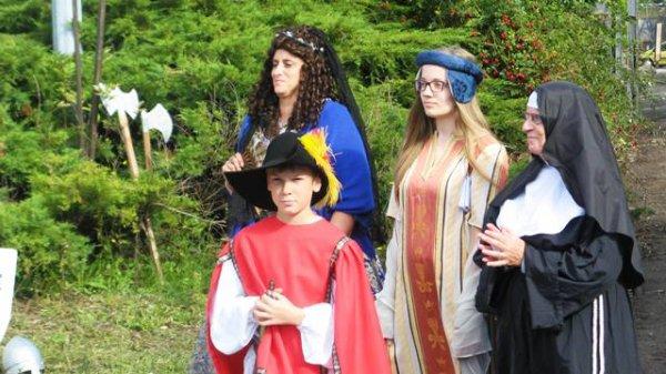 Le syndicat d'initiative de Marquette-lez-Lille a mis Jeanne de Flandre à l'honneur lors des journées européennes du patrimoine 2015