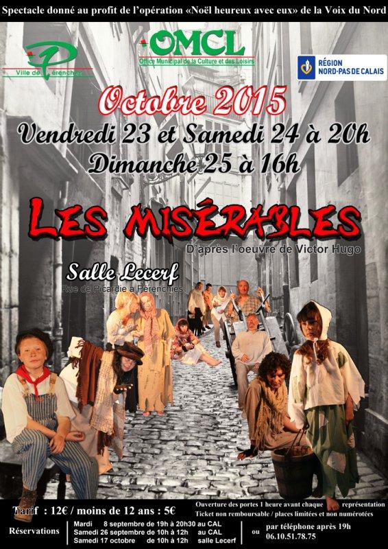 """""""Les Misérables"""" bientôt à Pérenchies !"""