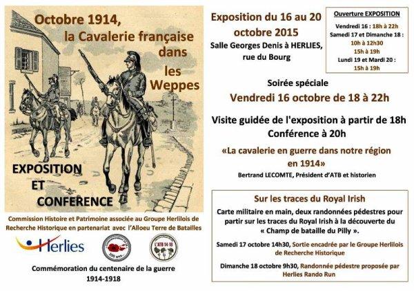 Octobre 1914, la cavalerie française dans les Weppes
