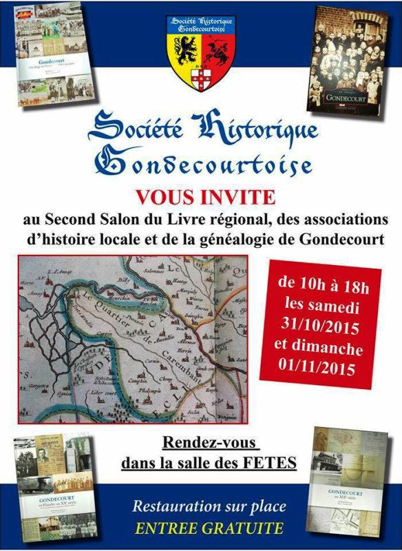 Les samedi 31 octobre et dimanche 1er novembre, rendez-vous à Gondecourt avec la Société historique gondecourtoise