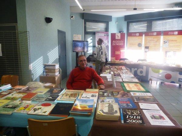 Au salon du livre d'histoire régionale de Gondecourt