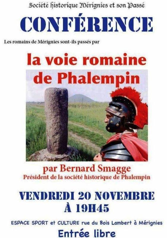 La voie romaine de Phalempin