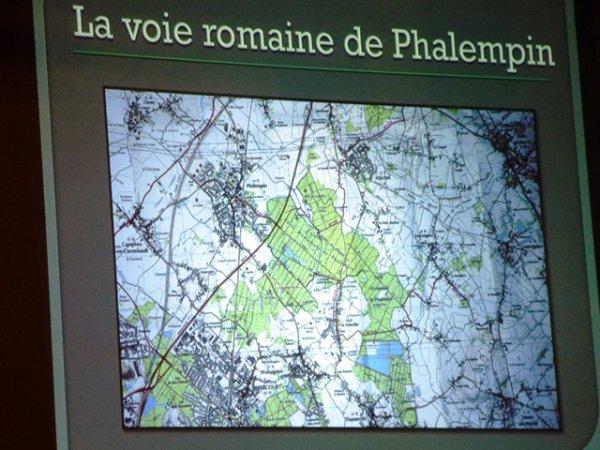 La voie romaine de Phalempin, on en a parlé ce vendredi soir à Mérignies