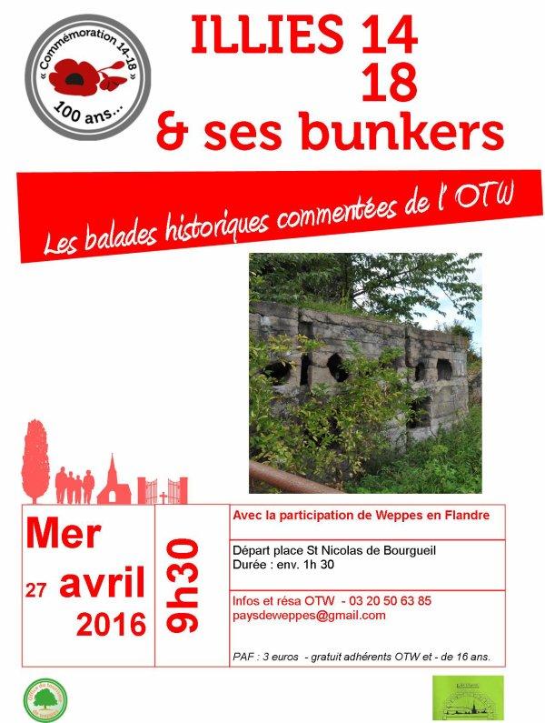 Illies et ses bunkers