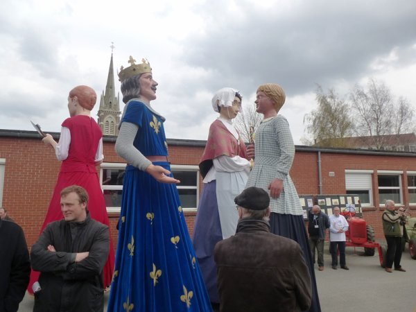 Inauguration de la fête de printemps 2016 de Tracteurs en Weppes : Weppes en Flandre y était !