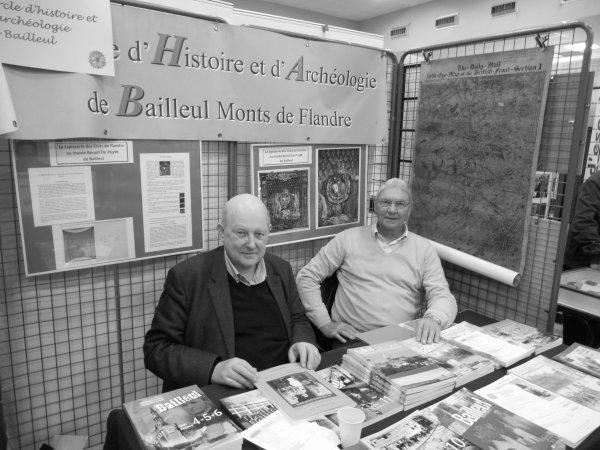 Forum de la châtellenie de Lille : le cercle d'histoire et d'archéologie de Bailleul opte pour une esthétique rétro.