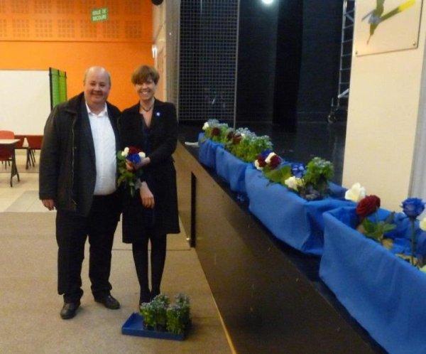 Le forum de la châtellenie de Lille à l'heure des remerciements aux collectivités qui nous ont aidés