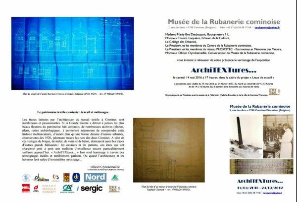 Nouvelle exposition du Musée de la Rubanerie cominoise