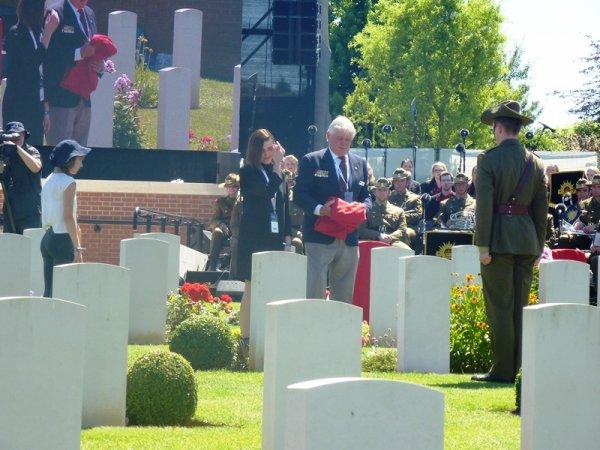 Centenaire de la bataille de Fromelles : autres photos