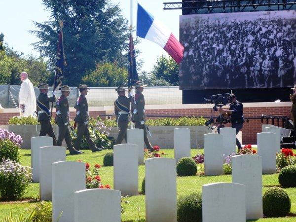 Centenaire de la bataille de Fromelles : ambiances