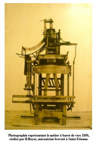 Le musée de la rubannerie de Comines-Warneton présente son métier à barre