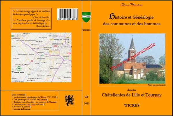 Le recueil annuel de Geneflandres de notre ami Alain Minet