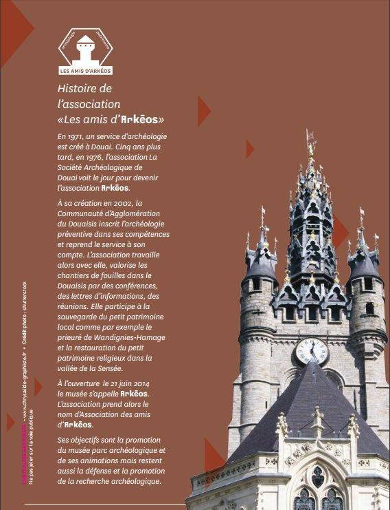 La ville de Douai s'offre un grand marché médiéval pour les journées européennes du patrimoine 2016 : c'est une information de notre ami Bernard Smagge de la société historique de Phalempin