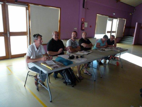 Deuxième et dernière réunion de préparation du forum des Weppes à Hantay : compte-rendu. (Merci à Alain-Pierre Loyez pour les photos.)