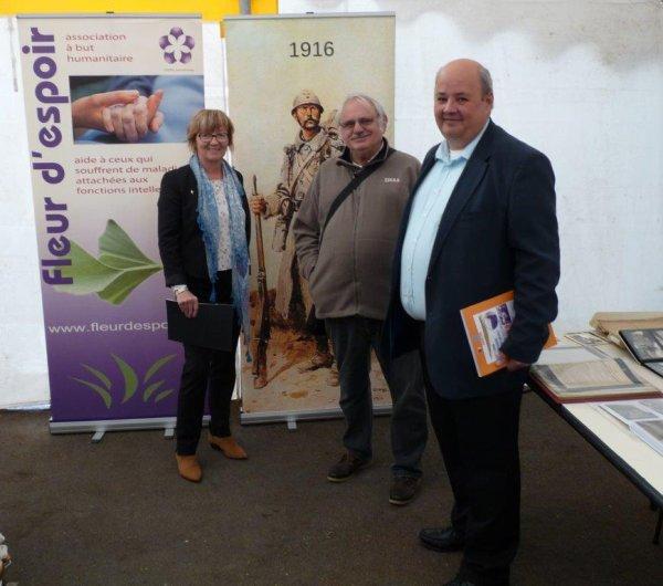 Forum des Weppes 2016 à Hantay : la visite inaugurale dans le viseur d'Alain-Pierre Loyez
