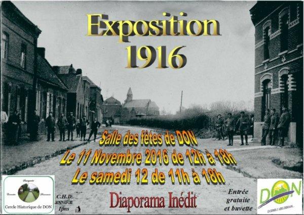1916 avec le cercle historique de Don
