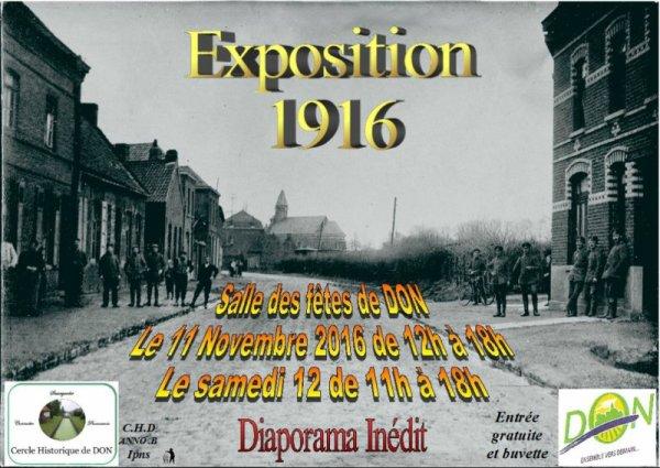 Le 11 novembre à Don (et le 12 aussi)