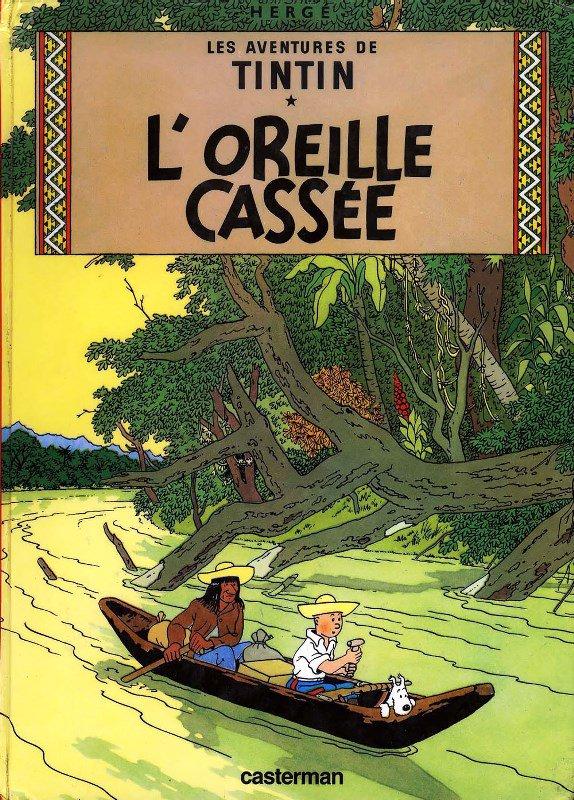 Tintin et le territoire de l'historien